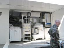 Автономная мобильная военная пекарня C 1000.