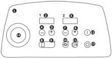 Электронный пульт управления Spiral А тип Е