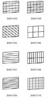 Комплект дополнительных решёток для гидравлического тестоделителя Mercure