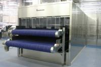 Двухуровневый охлаждающий  ленточный конвейер